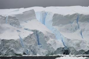 La belleza de los glaciares es inigualable.
