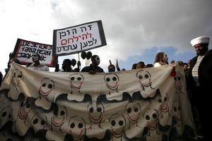 Alrededor de cinco mil personas participaron en la marcha.