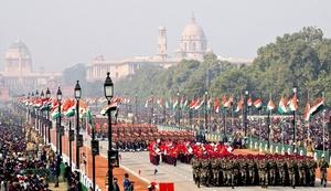 La India celebró el día de la República, con un desfile militar y cultural que contó con la presencia de sus más destacados dirigentes.