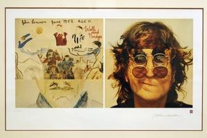 Walls and Bridges (Paredes y Puentes), otra litografía del músico británico John Lennon.