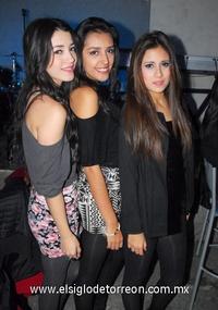 03022012 MARISOL  Mendoza, Fernanda Rodríguez y Jacqui Franco.