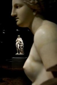 """La exposición """"Cuerpo y belleza en la Grecia antigua"""" se presenta en el Museo Nacional de Antropología, donde permanecerá hasta el próximo 12 de febrero."""