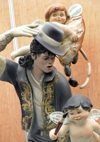 Michael Jackson también es un ninot.