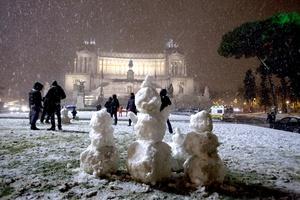 La ola de frío en Italia, sigue provocando problemas en todo el territorio.