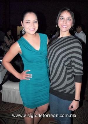 07022012 CAROLINA  Portillo y Ale Álvarez.