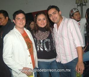 07022012 PEDRO  Díaz, Penny Luján y Óscar Aguirre.