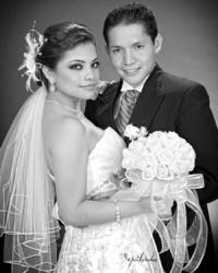 Lic.  Mónica Haydeé Escareño Escobedo y Lic. Lino Arreola Arias unieron sus vidas en matrimonio.   Sepúlveda Fotografía