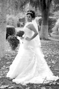 Q.F.B.  Cristina Sida Godoy, el día de su boda con Lic. Carlos Américo Gómez Rosales.   Benjamín Fotografía