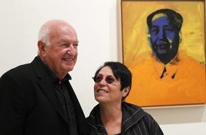 Don y Mera Rubell, propietarios de una de las mayores colecciones de arte contemporáneo privadas, la Rubell Family Colection.