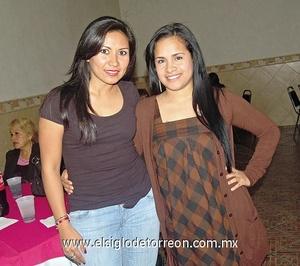 13022012 LILIANA  Ortiz e Isabel Gutiérrez.