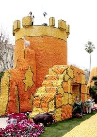 Durante veinte días Francia celebra a los cítricos.