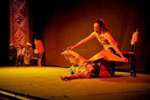 La gala recibió la participación de amigos cercanos a esta Casa Editorial, como la Compañía de Danza Contemporánea Mezquite.