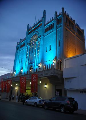 El TIM es considerado el segundo teatro más hermoso de México.