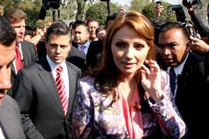 A diferencia de hace seis años, cuando se registró el aspirante presidencial del PRI-PVEM Roberto Madrazo, cuando la explanada del IFE se llenó de simpatizantes del priísta, y hasta mariachi hubo, esta mañana en las instalaciones del organismo electoral no se registra la presencia de seguidores de Peña Nieto.