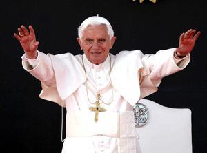 Benedicto XVI partió desde Roma a las 09.50 hora local (08.50 GMT) y, después de recorrer 10.267 kilómetros, llegó a tierras mexicanas.
