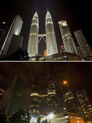 Otras ciudades de Asia que se sumaron a la campaña de este año son Kuala Lumpur (Malasia), Singapur (Singapur), Nueva Delhi (India), Seúl (Corea del Sur), así como localidades de Irak.