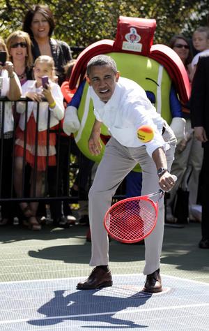 El presidente de EU realizó diversas actividades en la Casa Blanca.