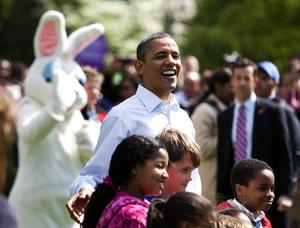 'Estamos encantados que todos ustedes pudieran unirse a nosotros', dijo Obama.