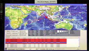 La alarma subsiguiente que emitió el Centro de Alertas de Tsunami del Pacífico informó a todos los países de la cuenca del Océano Indico, desde Australia y la India hasta las costas africanas, que podría generarse un tsunami.
