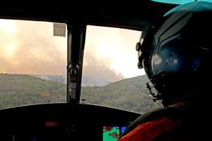 El gobierno de Jalisco solicitó a la Secretaría de la Defensa Nacional (Sedena) apoyo con helicópteros de la Fuerza Aérea Mexicana, para combatir el incendio en el bosque La Primavera,