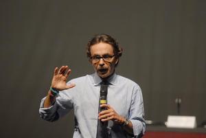 """Gabriel Quadri, participó en el """"Foro de Candidatos"""" organizado por estudiantes del Tecnológico de Monterrey."""