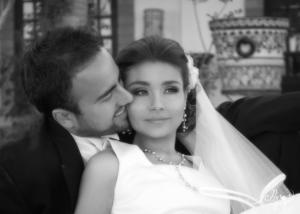 SRITA.  Natalia Estefanía Torres Marín y Sr. José Adrián Duarte Torres, el día de su boda.  Eduardo Sánchez Fotografía