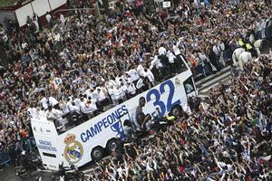 La última vez que el equipo de Madrid consiguió una Liga Española, fue en el año 2008. (EFE)