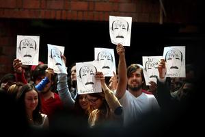 Sufre Peña Nieto en la Ibero