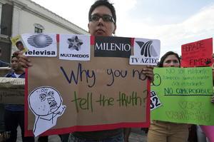En Monterrey, Guadalajara, Querétaro, Puebla, Cuernavaca, Toluca, Pachuca y Oaxaca las manifestaciones rebasaron las 200 personas.