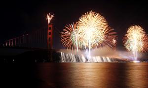 El emblemático puente Golden Gate de la ciudad de San Francisco, una de las obras de ingeniería más admiradas del mundo, cumplió 75 años.