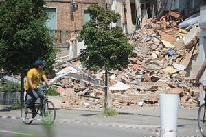 Algunas de las localidades más afectadas eran San Felice sul Panaro, Mirandola, Finale Emilia, Cento y Cavezo, donde según medios locales resultó afectado el 75 por ciento de las casas.