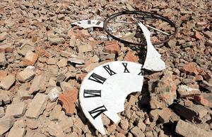 El sismo derrumbó el reloj en una torre y otros edificios de siglos de antigüedad y causó millones en pérdidas en la región conocida por producir el queso parmesano.