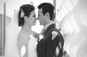 SRITA. ELBA   Elena Chairez Ortiz y Sr. José Guillermo Díaz Arroyo el día de su boda.-   Alejandra Vidal Fotografía
