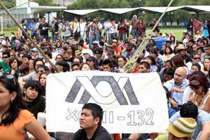 Se realizó un festival musical en las canchas de futbol de la institución, que servirá de marco para una reunión entre Camila Vallejo con los estudiantes de la UAM Xochimilco y representes del movimiento.