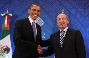 Al término de esa reunión, ambos presidentes se congratularon por la inclusión de México en las negociaciones del Acuerdo en un mensaje a los medios.