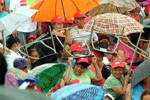 Peña Nieto dijo que ni ninguna tempestad habrá de impedir que llegue a la presidencia de México.