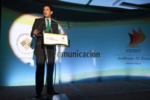 Alejandro Irarragorri dirigió unas palabras, agradeciendo a la Femexfut y a los trabajadores de la institución. (Jam Media)