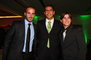 Por parte de los jugadores asistieron Marc Crosas, Oswaldo Sánchez e Iván Estrada. (Jam Media)