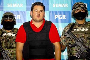 """Jesús Alfredo Guzmán Salazar, hijo del capo del narcotráfico mexicano Joaquín Guzmán Loera, alias """"El Chapo"""", fue detenido en el estado de Jalisco."""