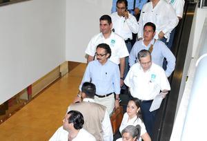 Quadri llegó a Torreón a unos días de las elecciones presidenciales.