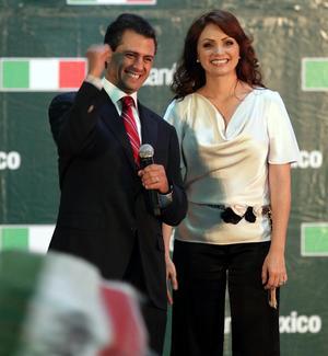 """Peña Nieto agregó que hay que dejar atrás las tensiones y diferencias y """"propiciar y alentar la reconciliación nacional""""."""