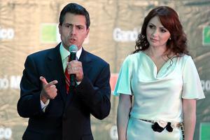 """""""Asumo con emoción, con gran compromiso y plena responsabilidad el mandato que los mexicanos me han encomendado"""", dijo Peña Nieto en un discurso ante sus seguidores."""
