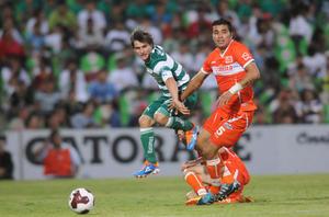 Un apurado empate a un gol obtuvo en su partido de presentación Santos Laguna ante Correcaminos UAT de la División de Ascenso.