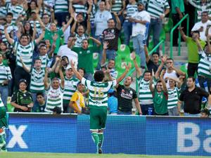 Hérculez Gómez aprovechó un gran pase del 'Chato' Rodríguez para marcar el de la diferencia.