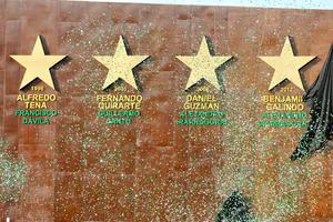 Las cuatro estrellas quedaron colocadas en la cabecera Norte del Estadio Corona junto al tablero principal, debajo de cada una de ellas aparece el año, nombre del técnico y del presidente del club para reconocer su hazaña.