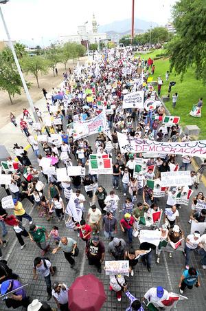 Monterrey fue una de las ciudades donde se registró gran asistencia.