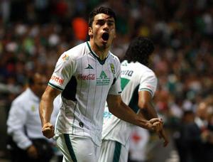 El delantero argentino Sebastian Maz marcó para el León a los 75 minutos, en un marcador que inauguró Juan Ignacio González al 35 y que cerró Carlos Peña al 85, los dos jugadores mexicanos.