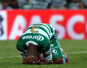 Santos Laguna vio cortada una racha de 14 partidos sin perder en el futbol mexicano en su cancha.