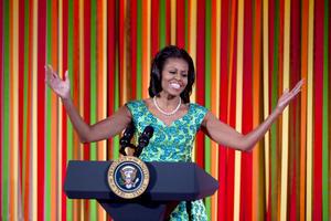 La primera dama de EU, Michelle Obama ocupa la séptima posición.