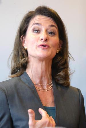 En el cuarto puesto se ubica Melinda Gates, cofundadora de la Fundación Bill & Melinda Gates, una organización que ha donado más de 25,000 millones de dólares desde su creación.